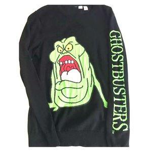 Ghostbuster sweater men's medium